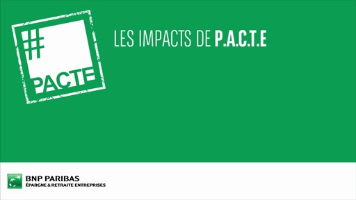 Les impacts de PACTE (Ep.6) - La carte blanche